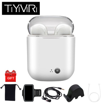 I7S TWS True Wireless Headphone Earbuds Mini Bluetooth In-Ear Stereo Music Wireless Earphones for Xiaomi Samsung Galaxy Android