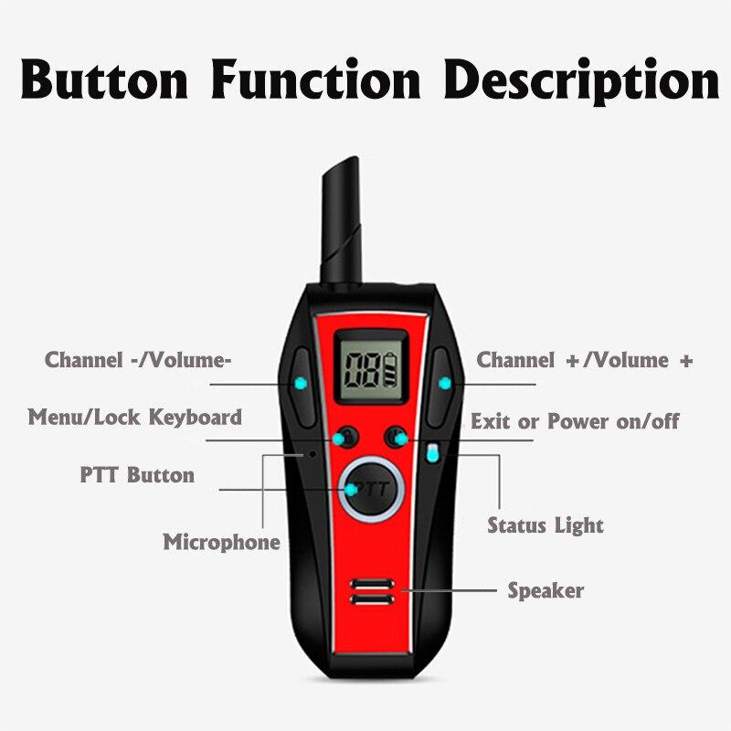 Image 3 - MINI Walkie Talkie Handheld Bluetooth Headset Wireless Earphone Small Size Two Way Radio Wireless Headphones Buletooth Earpiece-in Walkie Talkie from Cellphones & Telecommunications