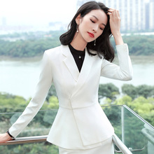 Business attire womens suit Ms. Fashion dress overalls han edition leisure tooling autumn wind of England