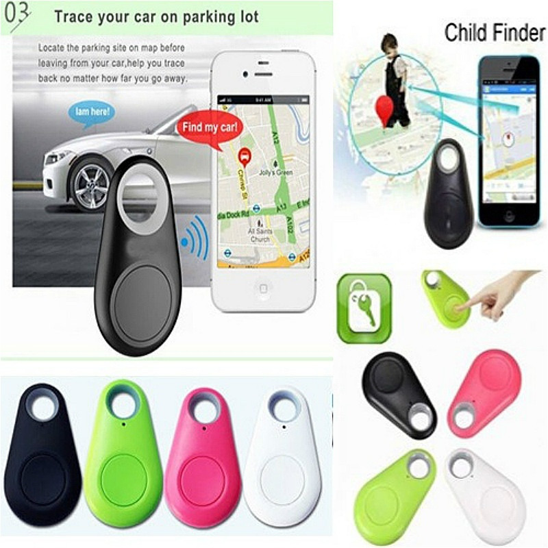 Anti-Lost Theft Device Alarm Bluetooth Remote GPS Tracker Child Pet Bag Wallet Key Finder Phone Box personal anti lost alarm device for kid pet purse bag cell phone blue black 1 cr2032 2 cr2032