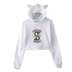 Sudaderas Mujer 2018 Riverdale Printing Sweatshirt Harajuku Fashion Hoodies Plus Size Streetwear Sudadera Mujer Hoodies Women 2