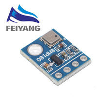 10 pièces GY-68 BMP180 GY68 Module de capteur de pression barométrique numérique compatible avec BMP085 pour Arduino
