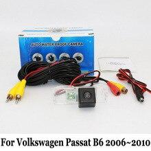 Камера Заднего вида Для Volkswagen VW Passat B6 2006 ~ 2010/RCA Проводной или Беспроводной/CCD Ночного Видения/HD Широкоугольный Объектив Камеры