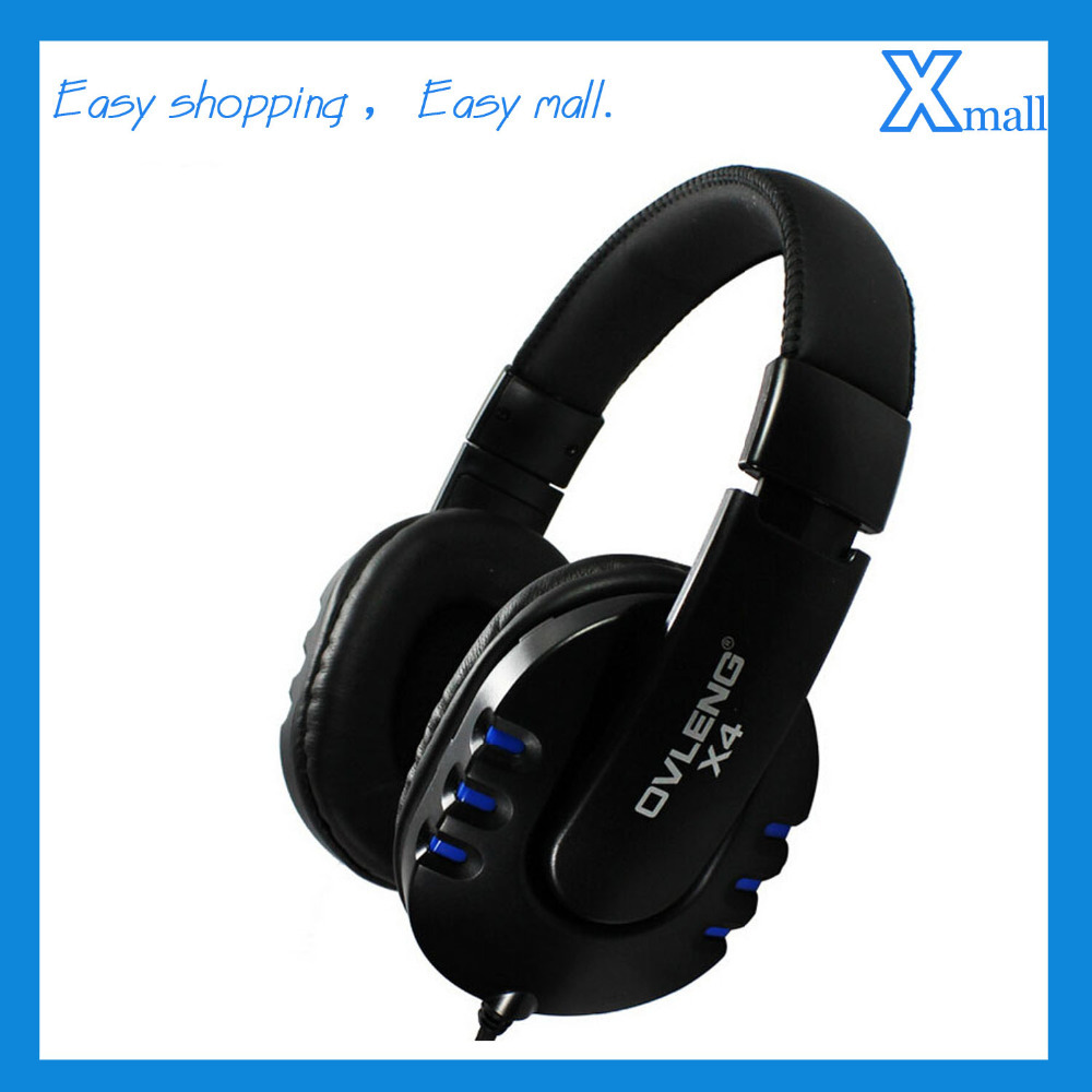 Free Shipping Universal 3.5mm Wired Stereo Headset Noise Canceling Headphones Earphone