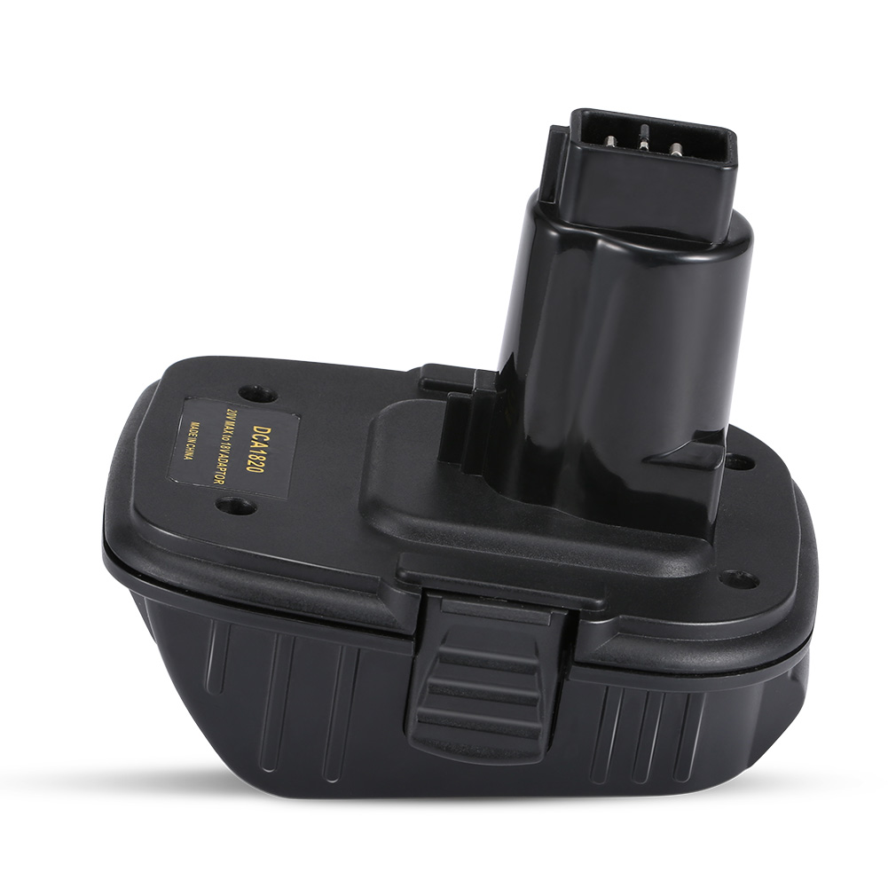 DCA1820 <font><b>18V</b></font>/20V Lithium Battery Convert To Nickel Electric And Charger Tools <font><b>Adapter</b></font> For Dewalt Batteries -- JDH99 image