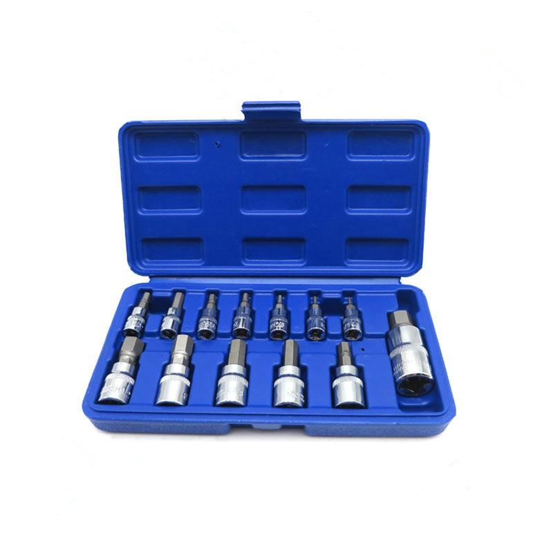 "Craftsman 13pc Piece 1//2/"" /& 1//4/"" Drive Torx Bit Specialty Socket Set NEW 3//8/"""