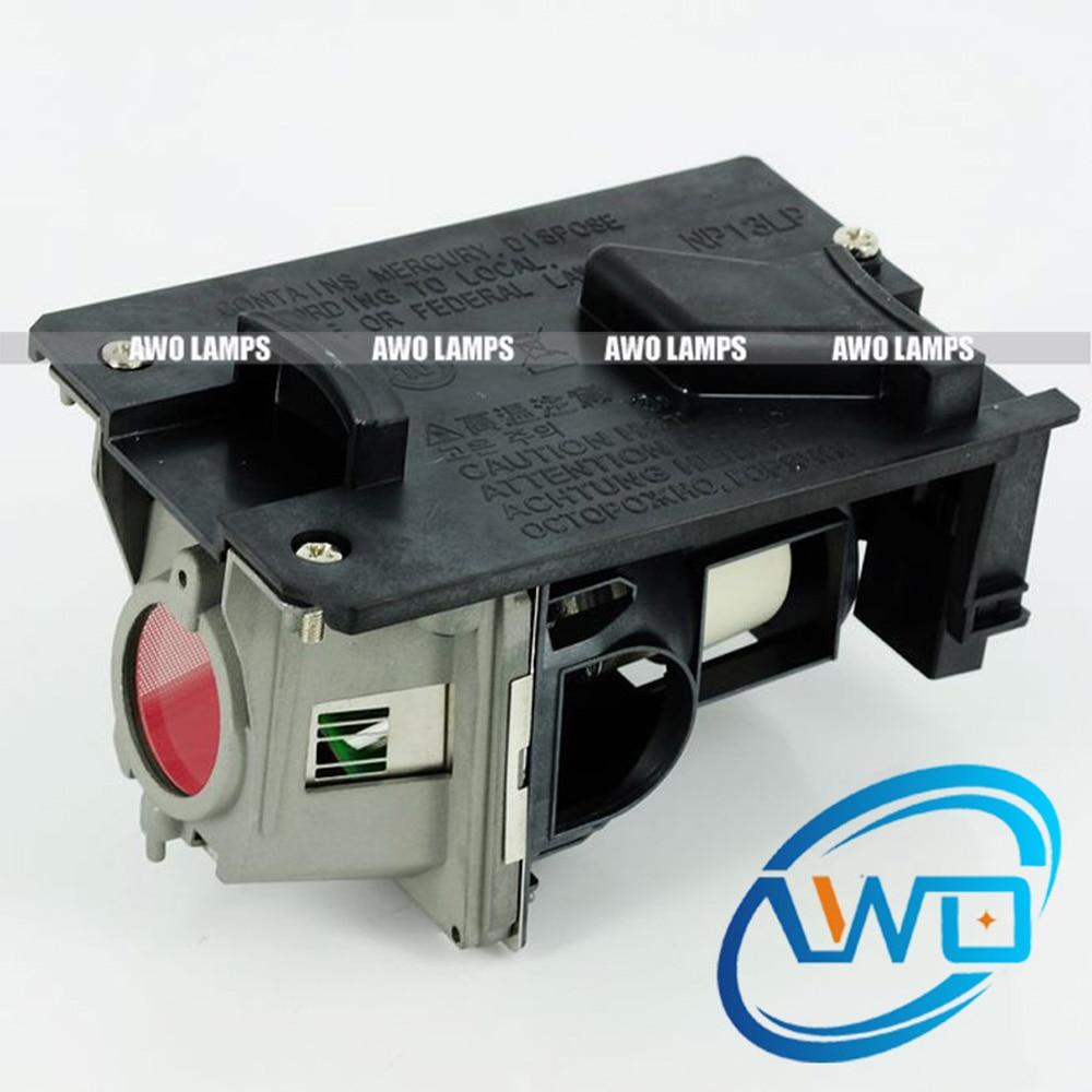 AWO якісна заміна проектора лампа NP13LP з - Домашнє аудіо і відео - фото 1