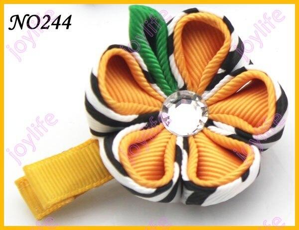 "220 шт 2-2,"" цветок канзаши заколки для волос катушка для значка заколки для волос"