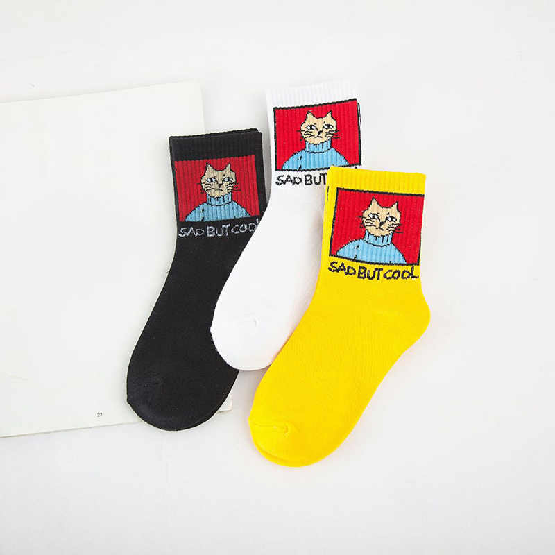 [Cosplacool] 1ペア原宿クッキーwarm funny靴下日本バルーンクリエイティブmeiasかわいい女性靴下かわいいskarpetki sokken