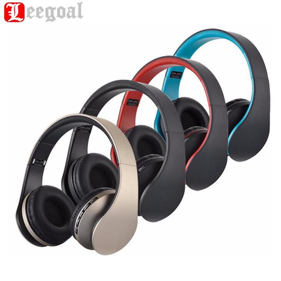 BT-811 Wireless & Wired Bluetooth Stereo Kopfhörer Portable Faltbare Kopfhörer Handsfree Mic MP3 FM Headset Für Smartphones