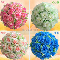 50cm/19.7 inch artificial flower ball wedding kissing ball rose flower ball wedding flower ball wedding supermarket decoration