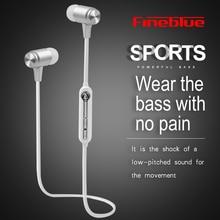 Fineblue Mate9 Wireless Bluetooth Earphone With Mic Wireless Headphone Sport Headset Running Earbuds handsfree for phone music недорого