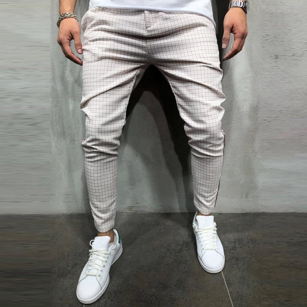 Shoe - Stripe Splicing Pocket Sport Work Casual Trouser Pants