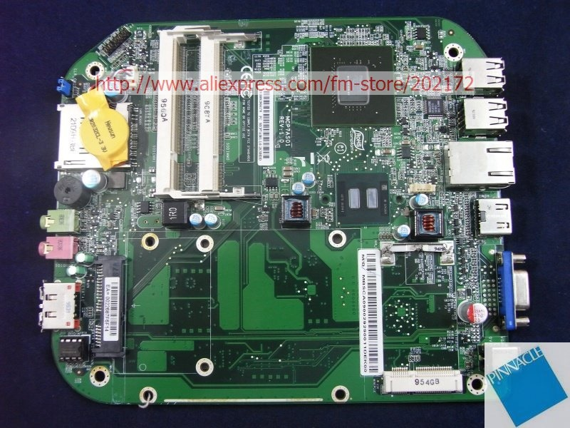 MBSCA09002 Motherboard for  Acer Aspire Revo R3600 R3610 MB.SCA09.002 MCP7A501 tested good mbptg06001 motherboard for acer aspire 5820g 5820t 5820tzg dazr7bmb8e0 31zr7mb0000 tested good