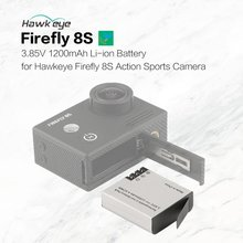 Firefly 8S S009R Hawkeye 3.85V 1200mAh Li-ion Replacement Sports Action WIFI Camera Cam Spare Battery Parts Accessory