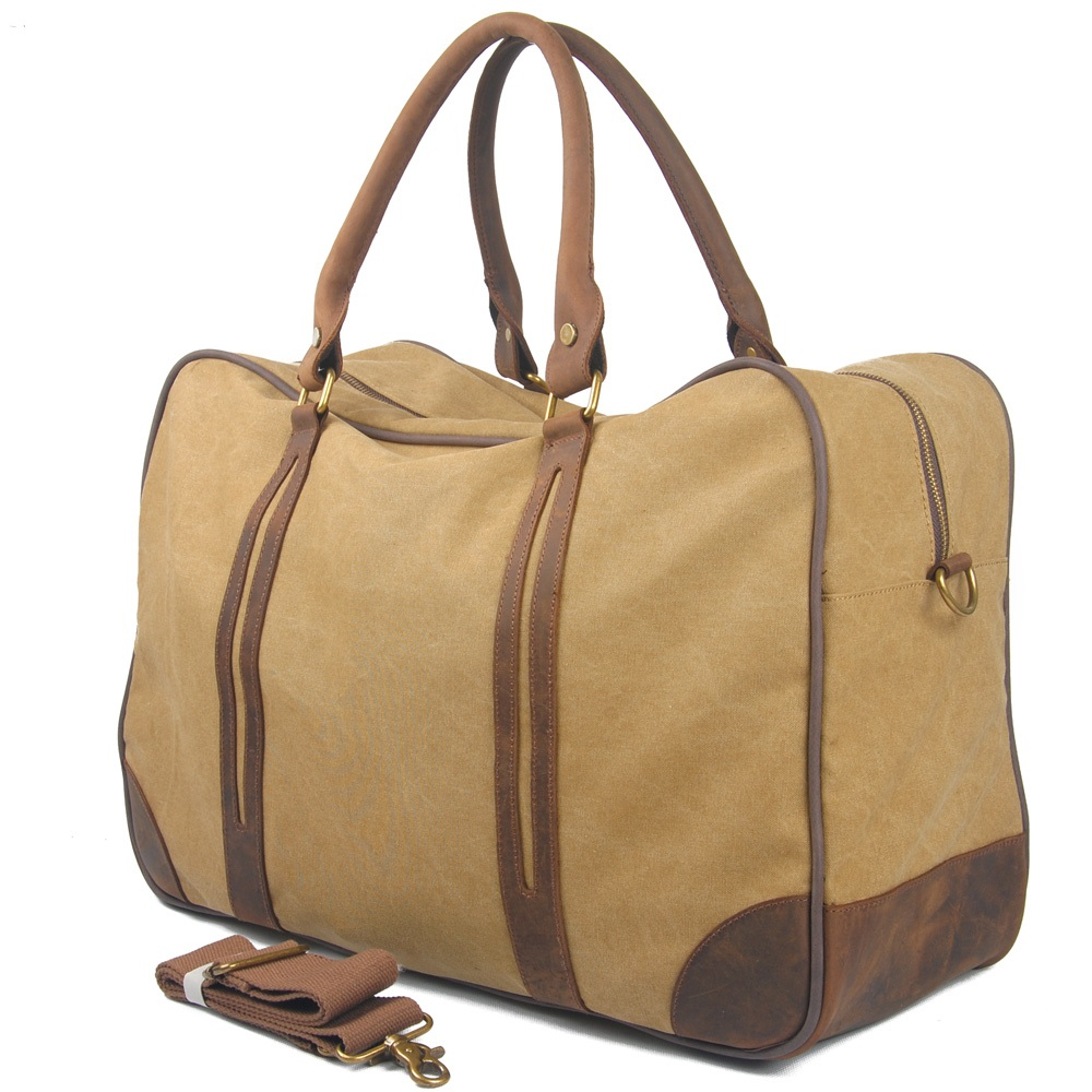 European and American large canvas bags bag hand shoulder bag Messenger bag large capacity 6827 цены онлайн