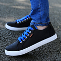 Men Canvas Shoes 2016 Hot Sale Men's Solid Comfortable Sport Style Shoes Male Casual Autumn Wear Outdoor Shoes