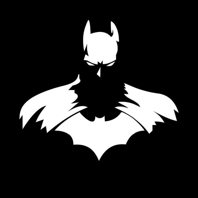 Cool Batman Car Stickers 1211cm Batman DC Dark Knight Car