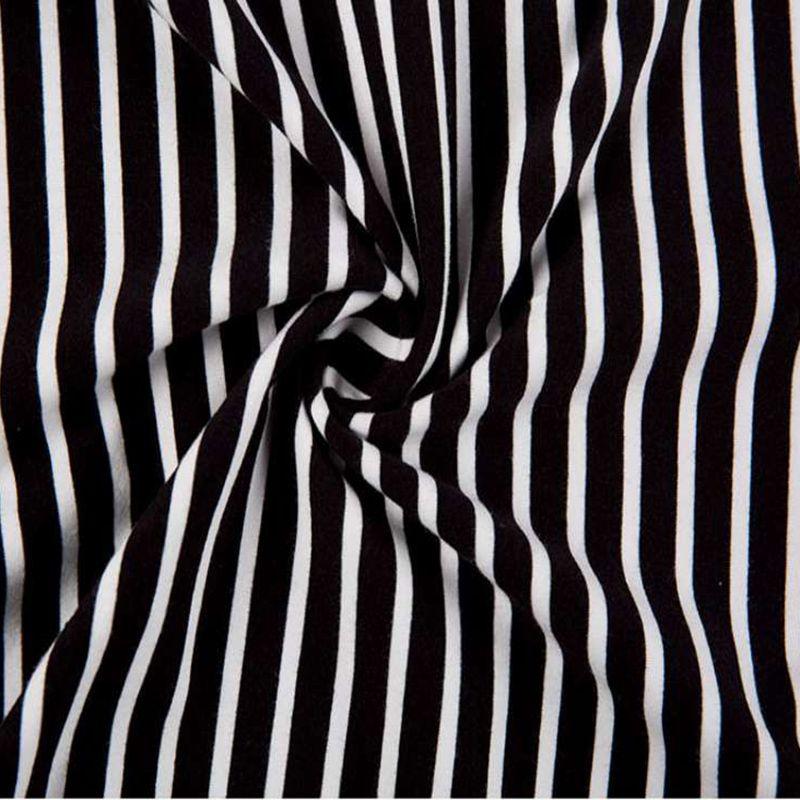 HTB1upfWGHSYBuNjSspiq6xNzpXac - Fashion Black White Striped Women Long Sleeve T-shirt Turtleneck Female