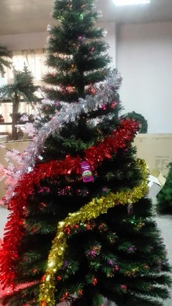 2.1 meters luxury green optical fiber christmas tree2.1 meters luxury green optical fiber christmas tree