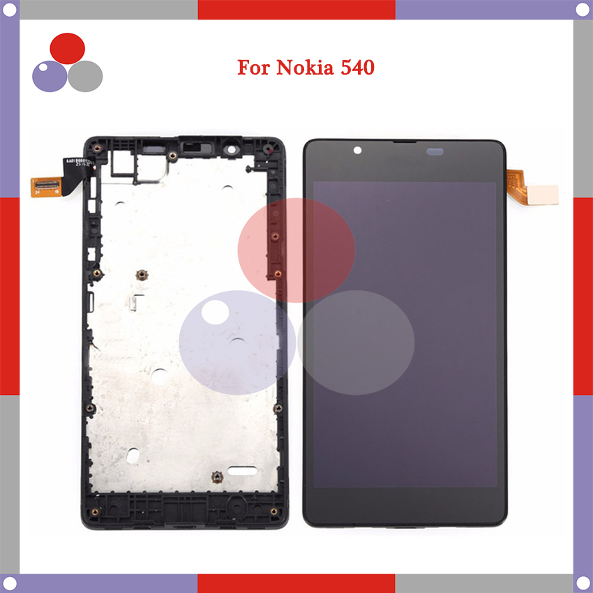 5.0'' For <font><b>Microsoft</b></font> Nokia <font><b>Lumia</b></font> N540 LCD Digitizer Assembly Touch <font><b>Screen</b></font> Digitizer Assembly <font><b>Replacement</b></font> Parts image