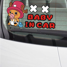 One Piece Baby In Car Stickers