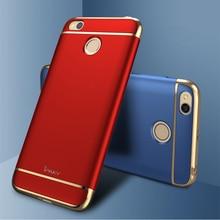 IPaky Для Xiaomi Redmi 4X Case Матовый Fundas 3in1 Твердый Переплет Творческий Корпус Для Mi Redmi4x Телефон Случаях