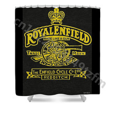 Waterproof Shower Curtains Triumph Royal Enfield Curtain Print Polyester Fabric Bathroom With 12 Hooks