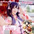 Yazawa Nico Cosplay Amor En Vivo! lovelive escuela idol proyecto cheongsam kawaii traje de las mujeres