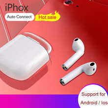 IPHOX i7s TWS Mini Wireless Bluetooth Earphone Stereo Earbud Headset With Charging Box Mic for iphone Xiaomi Huawei and Samsung(China)
