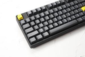 Image 5 - مجموعة أغطية مفاتيح صبغات صغيرة مطلية بالكرز بلاستيك PBT سميك أسود أصفر للرجال من أجل gh60 xd64 xd84 xd96 tada68 87 104 razer corsair