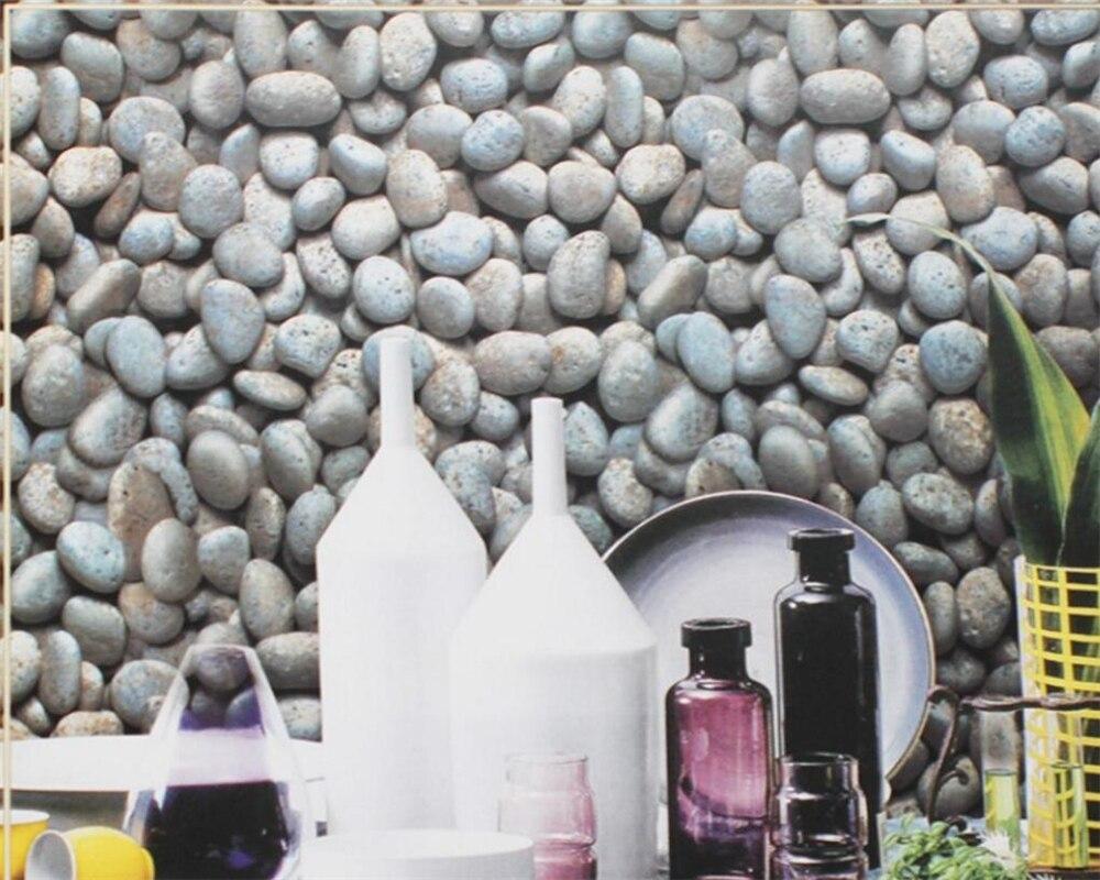 Beibehang 3D papier peint maison éléments de galets décoratifs fond d'écran salon chambre TV mural 3d papier peint rouleau