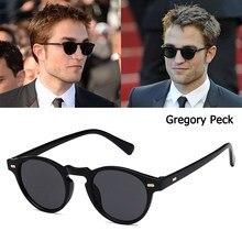 Jackjad 2020 moda gregory peck estilo redondo rebites óculos de sol do vintage rebites legal design da marca óculos sol oculos de sol 5186