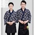 (10sets-Hat-Apron-Shirt) японская кухонная одежда корейская кухня суши Ресторан униформа шеф-повара одежда японская кухня