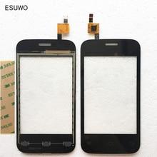 Esuwo Сенсор Сенсорный экран для Fly IQ239 + Сенсорный экран планшета спереди Стекло Панель черный Цвет