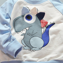 Baby Top+Pants Set Toddler Kids Children Clothing Set Cartoon Dinosaur Long Sleeve Outfit Tops Clothes Harem Pants Trouser FCI#