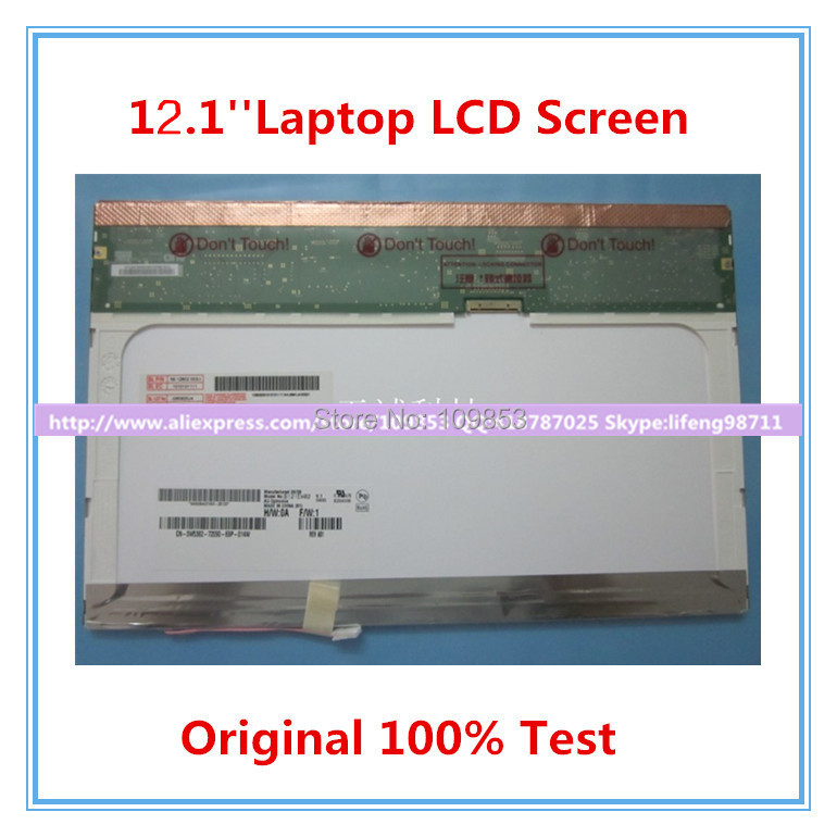 12 1 LAPTOP SCREEN LTN121W1 L03 LTD121EWVB B121EW03 LTD121EXVV N121I3 laptop display