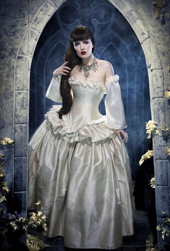 ᐅSteampunk Bustle Dress - Victorian Madam- Corseted Jacket Top ...