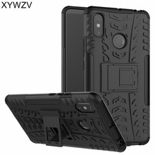 Xiaomi Mi Max 3 Case Shockproof Armor Rubber Hard Phone Case For Xiaomi Mi Max 3 Back Cover For Xiaomi Mi Max 3 Shell Fundas luanke crocodile grain phone back case for xiaomi mi max 3