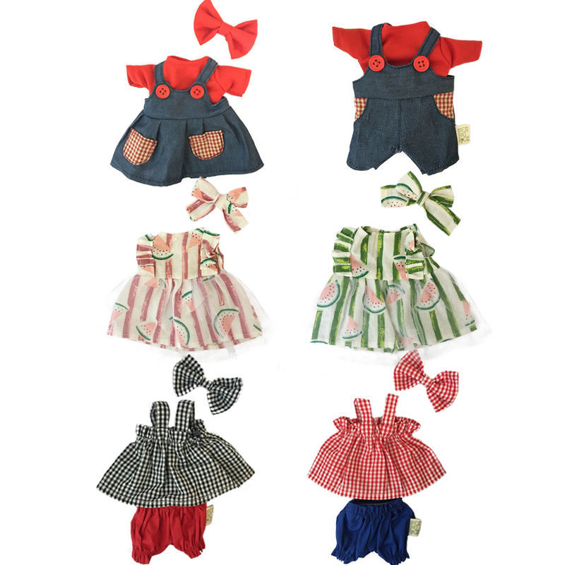 45cm/60cm Clothes Accessories For Rabbit Cat Bear Plush Dolls Dress Skirt Sweater For BJD Doll Toys For Girls Children Gifts