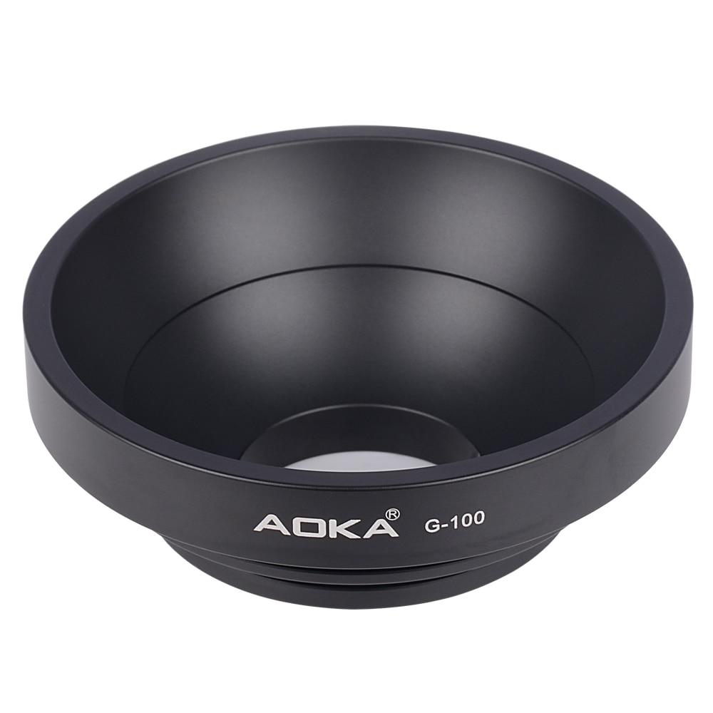 AOKA G-100 camera tripd accessory ball bowl adapter for GITZO MANFROTTO SACHTLER