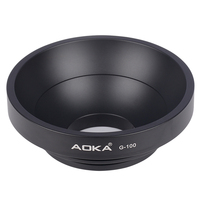 AOKA G 100 camera tripd accessory ball bowl adapter for GITZO MANFROTTO SACHTLER