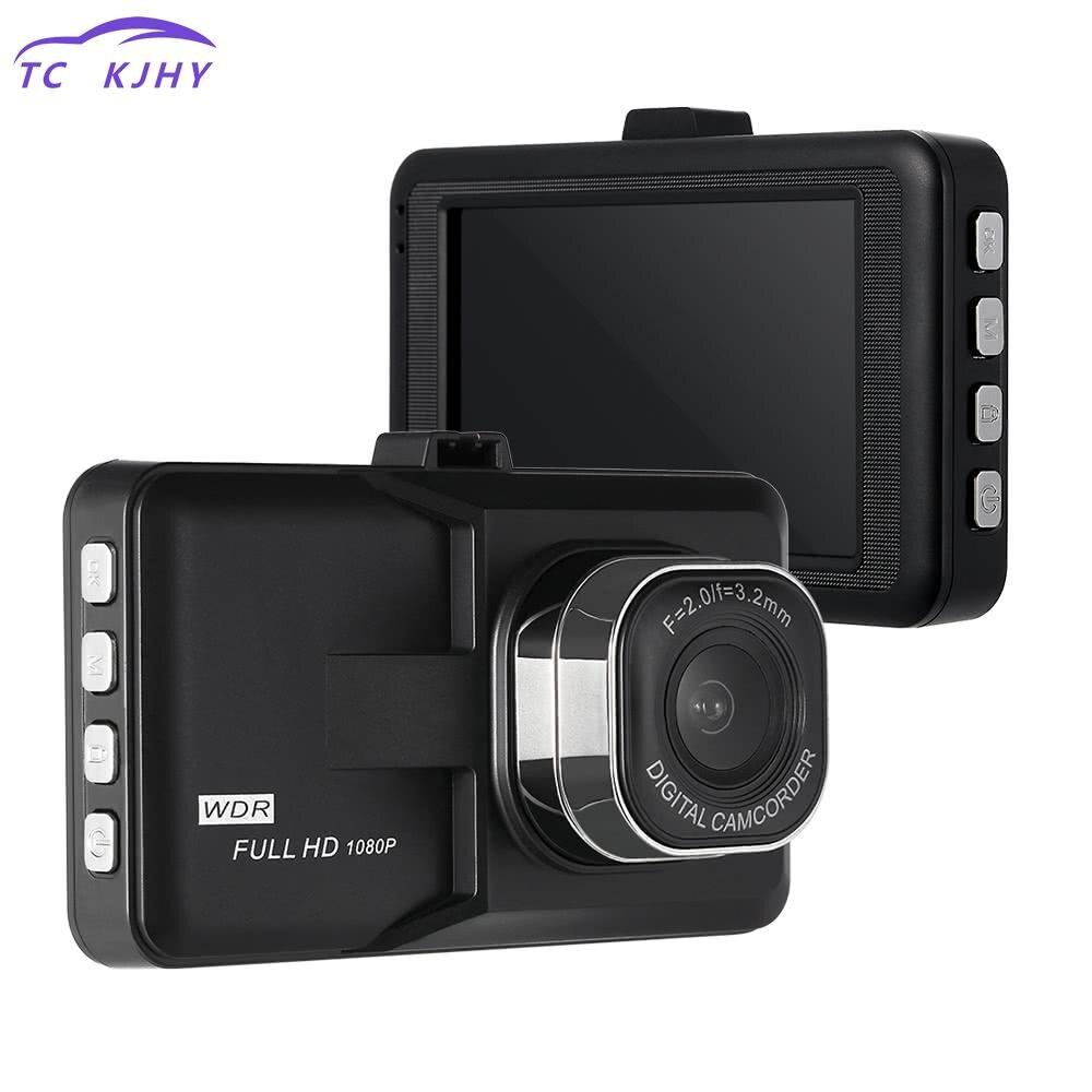 1080p Front Lens Car Dvr View Dash Cam Car Dvr Lcd Mirror Full Hd 3.0 Inch Video Camera Recorder Night Vision Parking Monitor