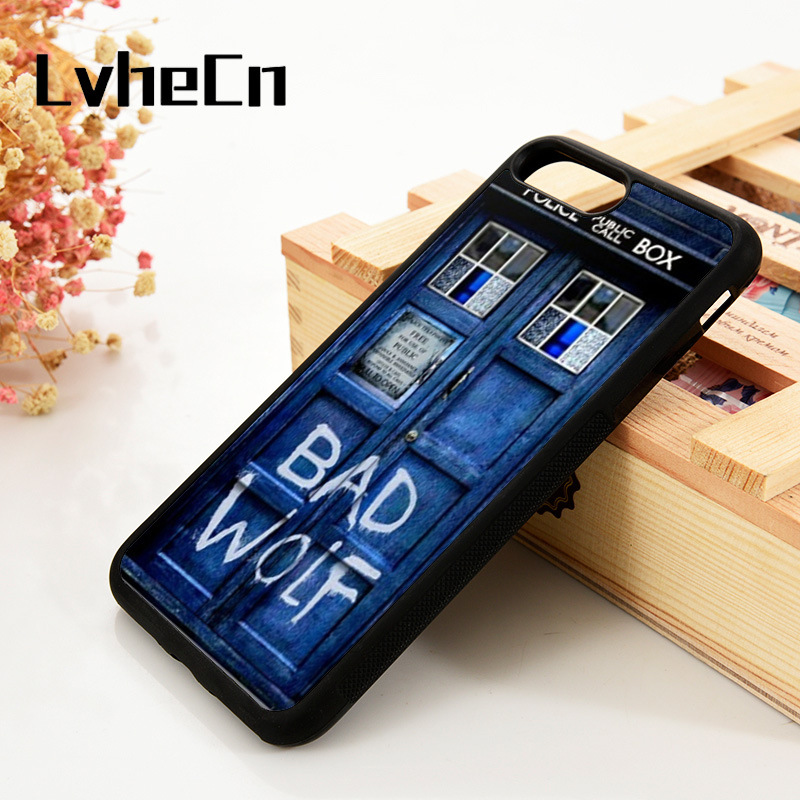 Cellphones & Telecommunications Lvhecn 5 5s Se 6 6s Phone Cover Cases For Iphone 7 8 Plus X Xs Max Xr Soft Silicone Rubber Doctor Who Bad Wolf