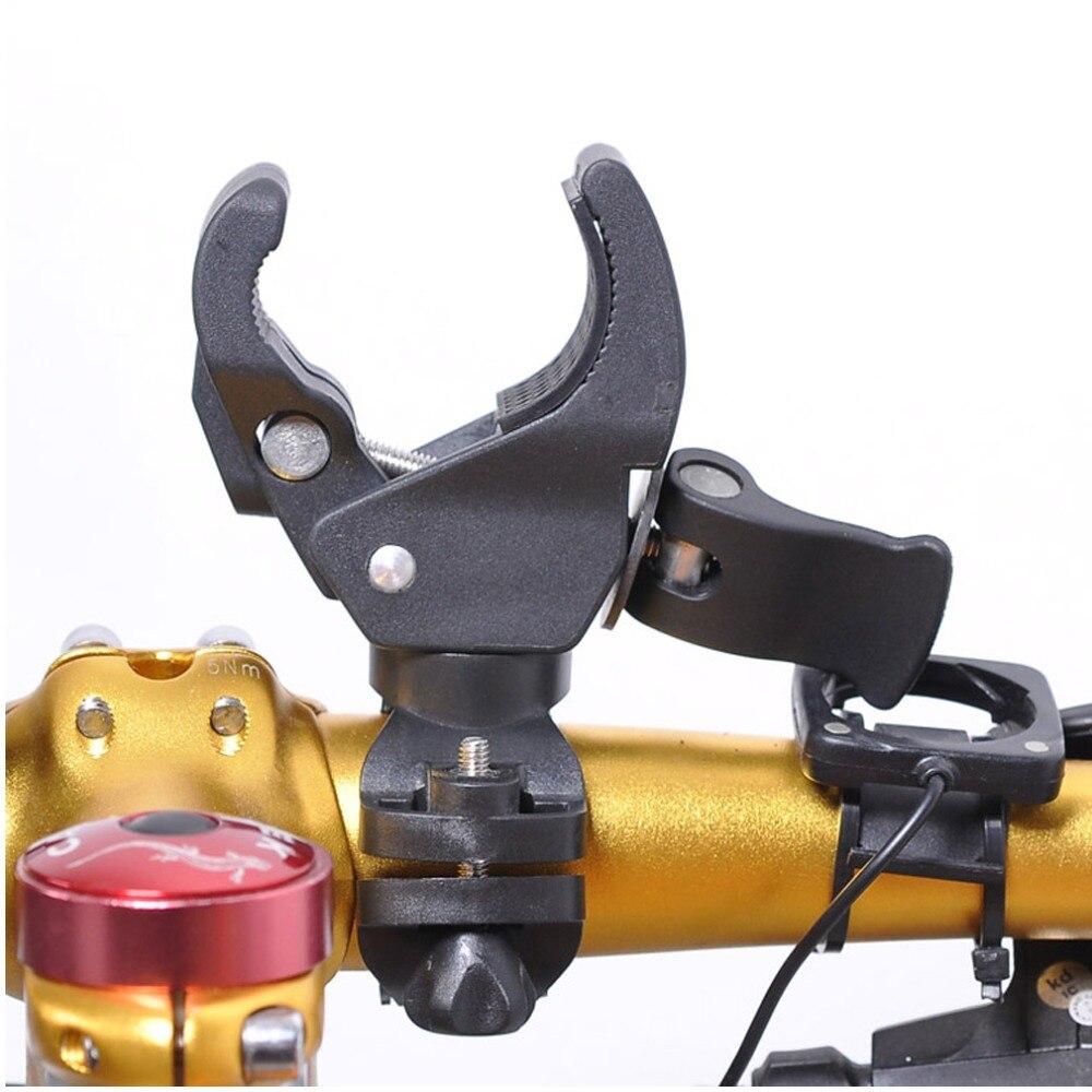 360 girado Universal cardán Barra de mano de soporte titular de montaje Abrazadera para zhiyun z1 evolución z1 suave Q C Feiyu G5 G4S estabilizador de bicicleta