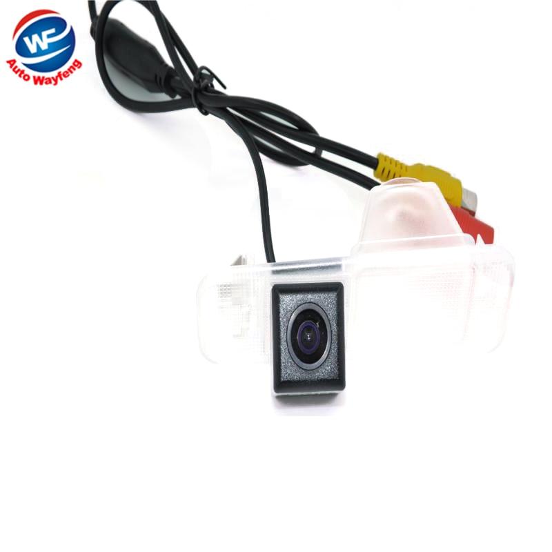 Fábrica que vende HD CCD cámara de visión trasera cámara de reserva para KIA K2 Rio cámara CCD HD Visión chips noche impermeable Cámara WF