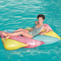 Giant Inflatable 1.9M* 1.05M Pool Floats Swimming Ring Circle Water Mattress Bed For Adults Party Accessories Pool Toys Floaties