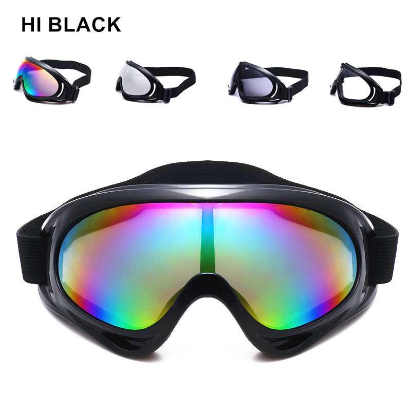 2019 HI BLACK Dust-proof Ski Sunglasses Cycling Hiking Outdoor Sports Goggles Skate Eyewear UV400 Bulletproof Skiing Glasses