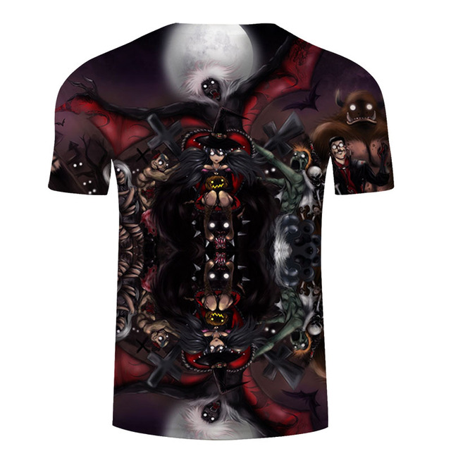 JACK & SALLY 3D T-SHIRT