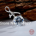 """Free Shipping""""Swan"""" Pendant Silver Pendant,Top Quality 925 Sterling Silver Jewelry GND0369"""
